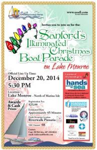 Illuminated Boat Parade Sanford FL