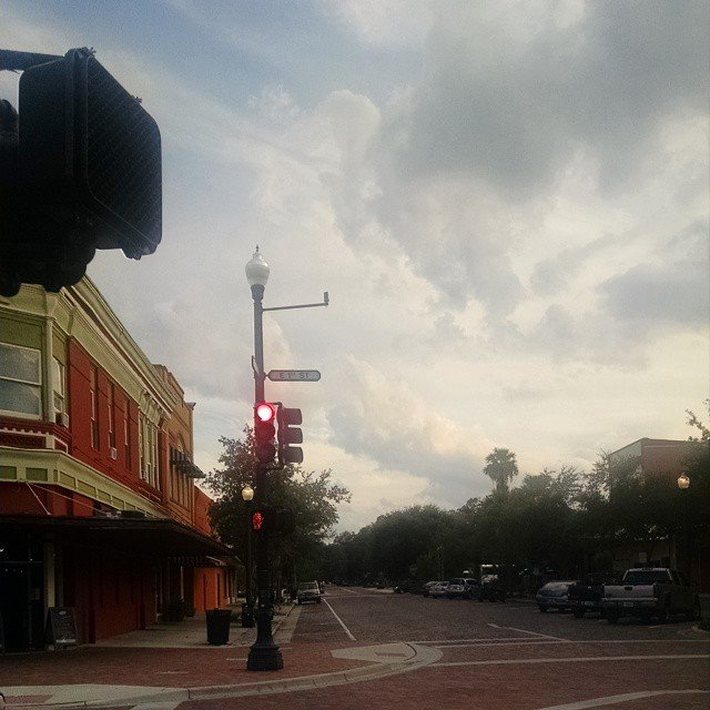Walking through Downtown Sanford FL