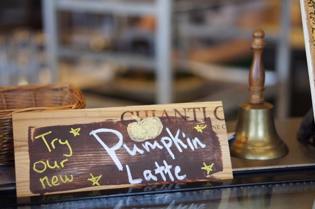 Pumpkin Latte at Caffe Di Riverwalk Sanford FL