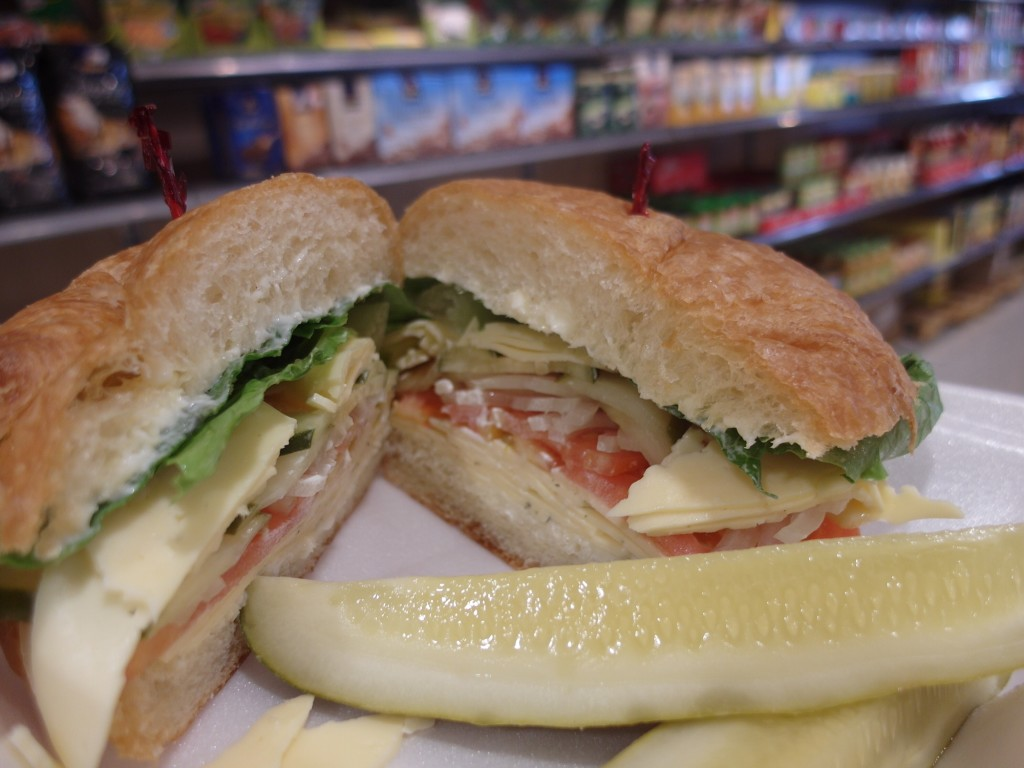 The De-Luscious Sandwich at Magnolia Square Market