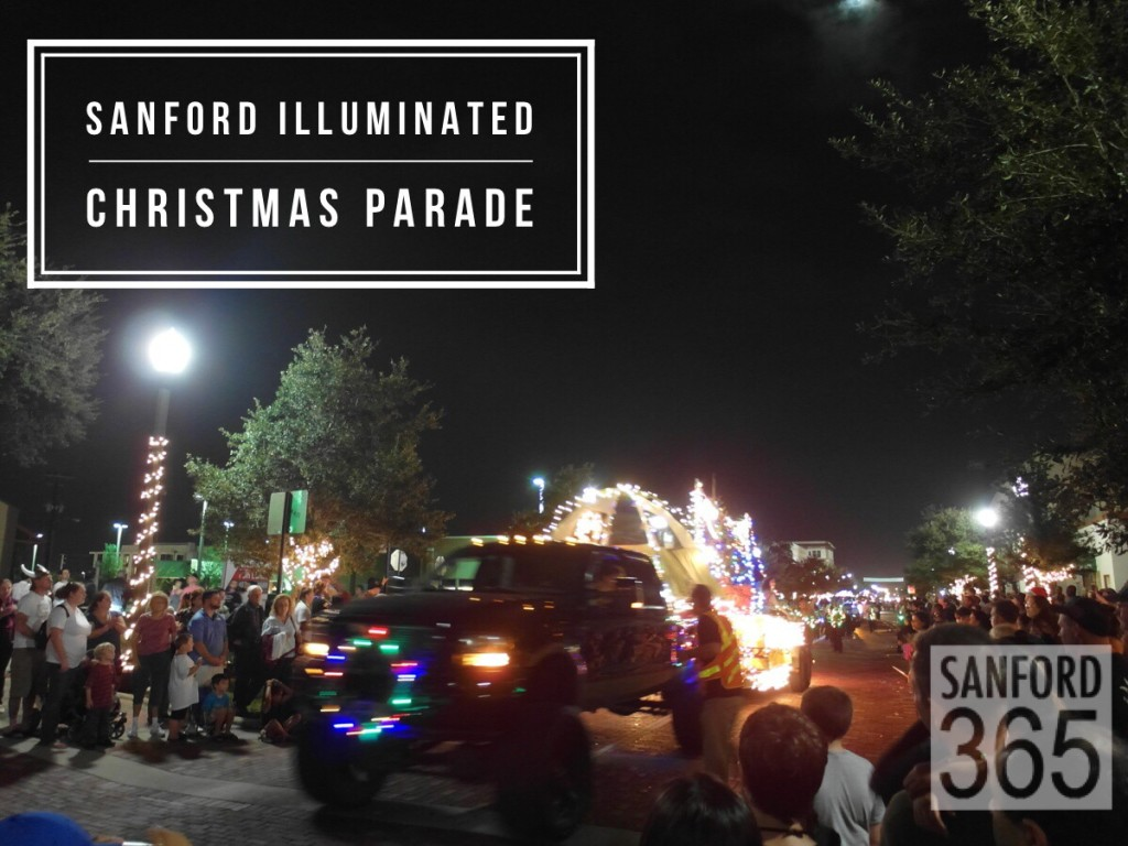 Sanford FL Christmas Parade on First Street