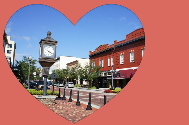 Romantic Spots and Events for Valentine's Day in Sanford FL and Orlando
