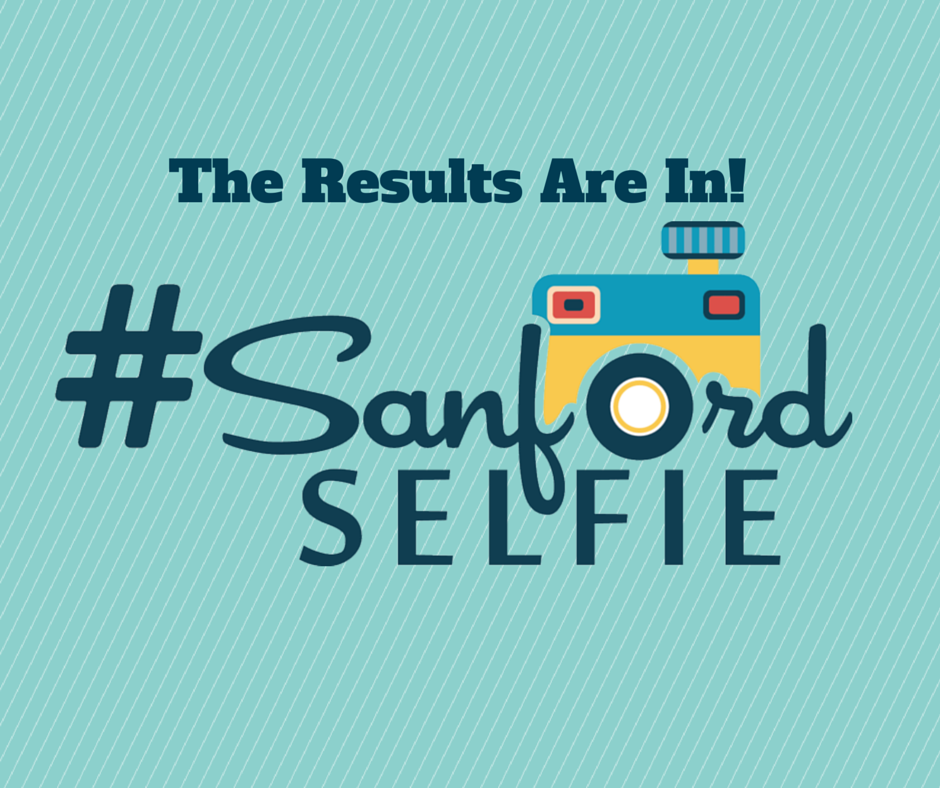 August Sanford Selfie Winners