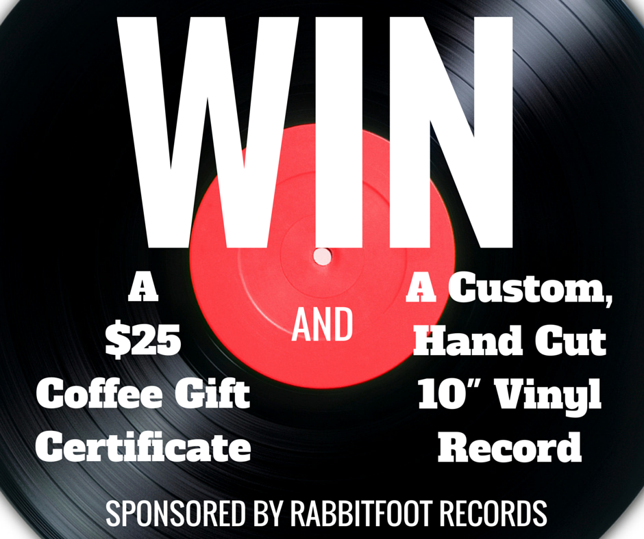 Rabbitfoot Records Themed Selfie Contest Prize