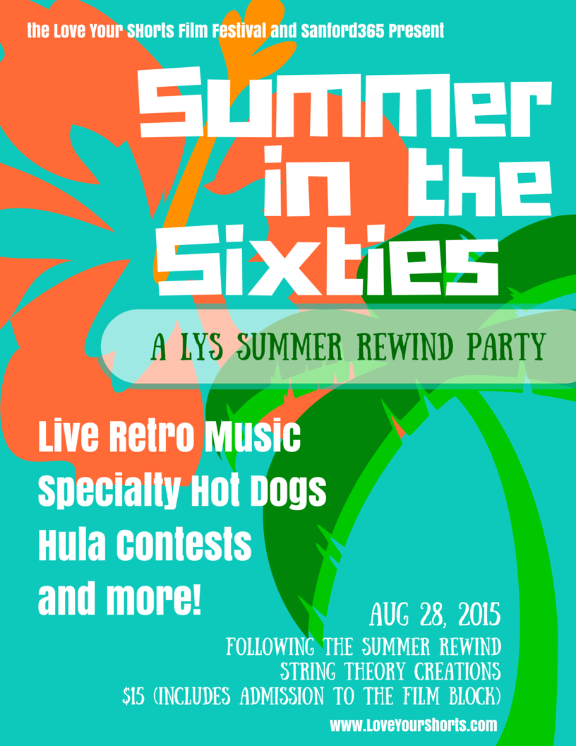 Summer in the Sixties Party
