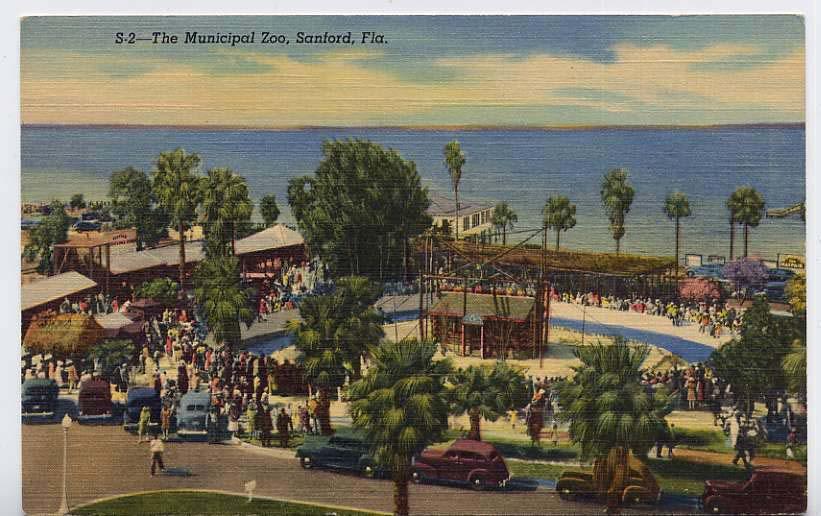 SANFORD FLORIDA ZOO 1939
