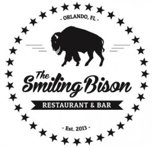 smiling bison