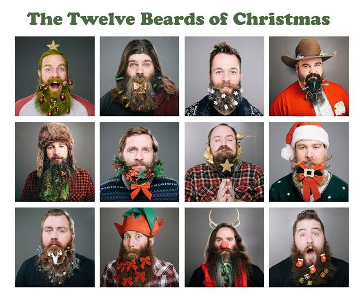 The Twelve Beards of Christmas