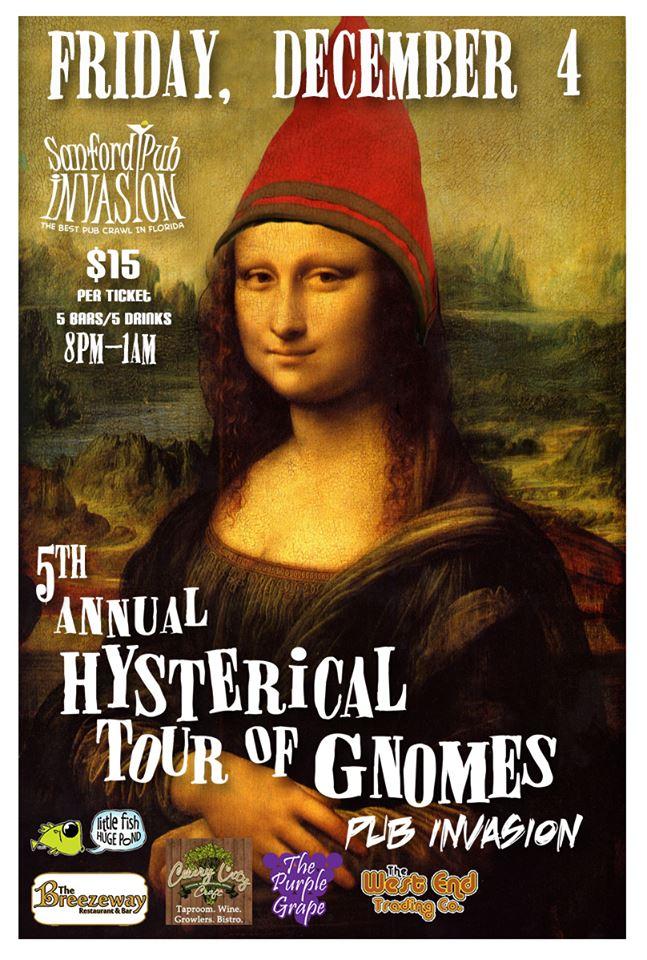 tour of gnomes