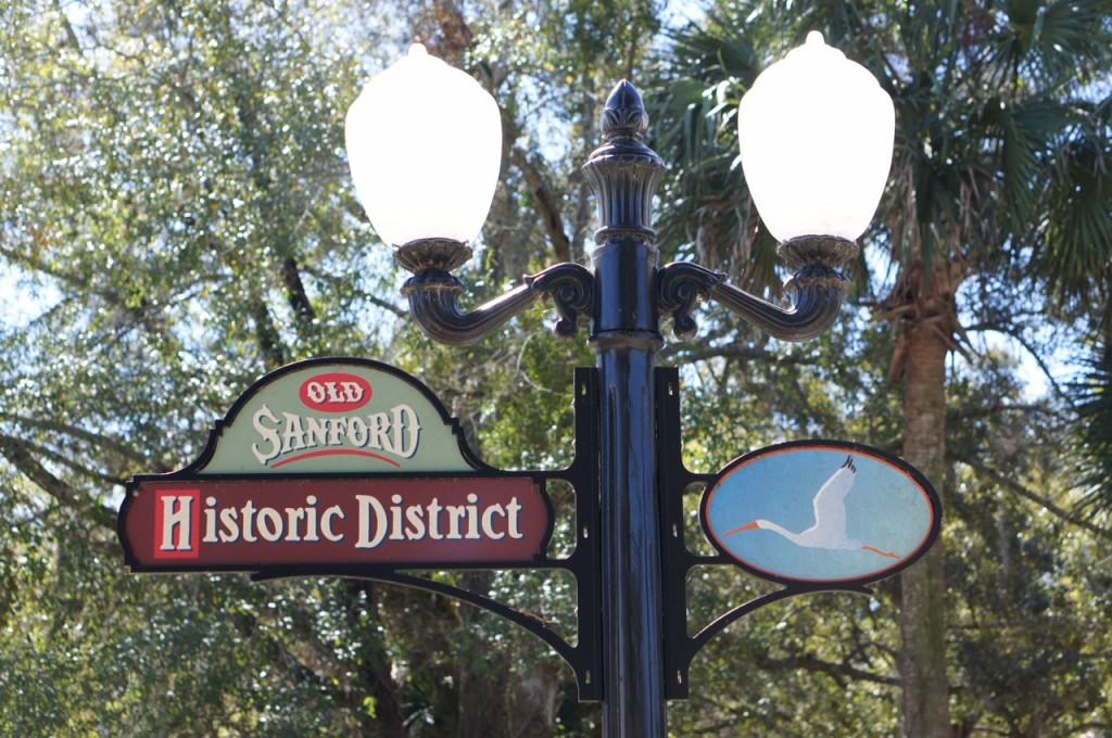 Historic District Sign Sanford FL