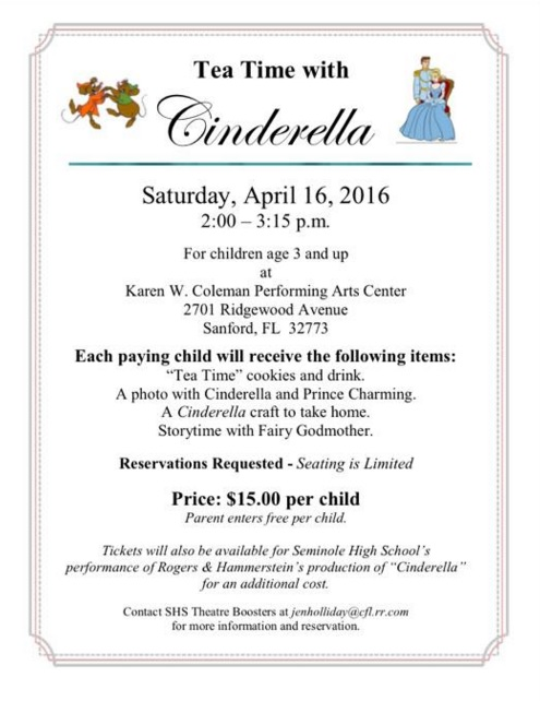 Tea Time with Cinderella