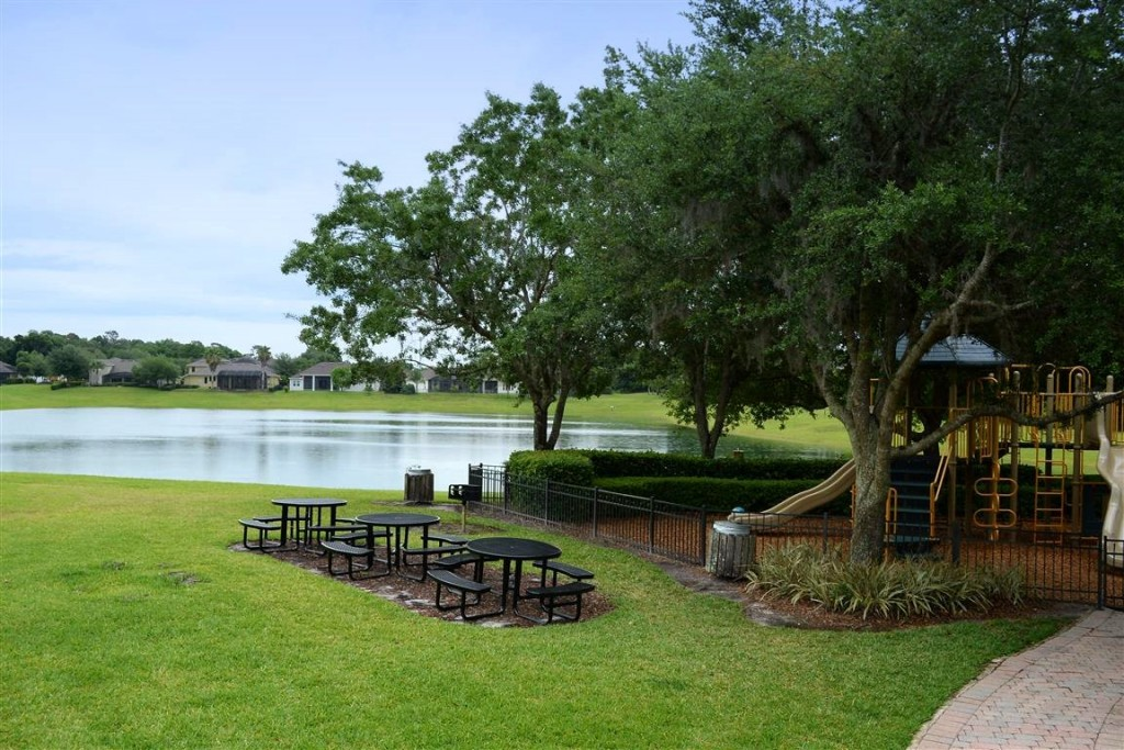 Picnic area and playgorund