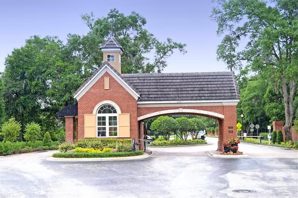 Guard gated entrance