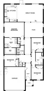 Model 2091 Floorplan