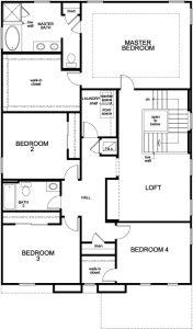 Model 3205 2nd Floor