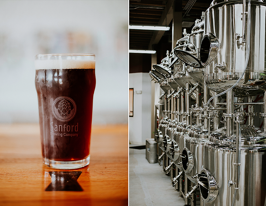 Sanford Brewing Company is the new brewery in town!
