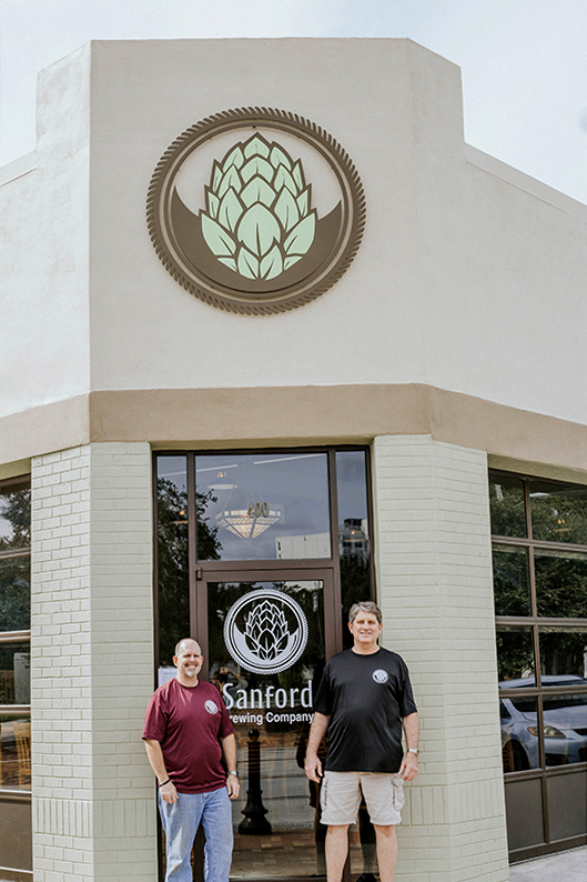 Owners of Sanford Brewing Company