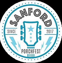 Sanford Porchfest Logo