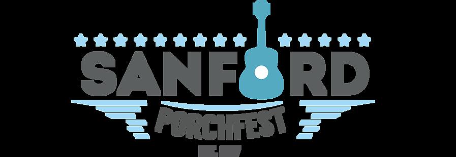 Sanford Porchfest Wide Logo