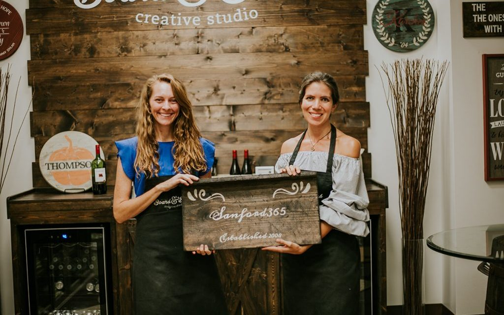 Become a maker at the new Board & Brush in Sanford
