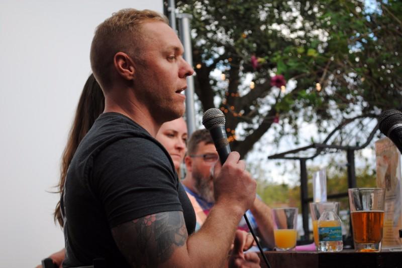 Abe Furth talks beer at the Sanford-Portland Beer Summit