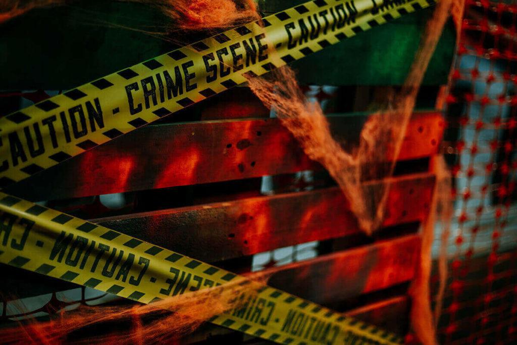 Haunted House in Sanford FL - Crime Scene