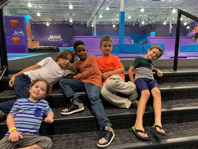 Jumping Joy at Altitude Trampoline Park in Sanford