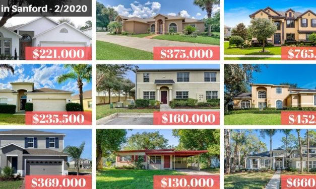 Sanford FL Real Estate Report February 2020