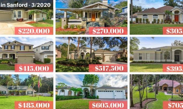 Sanford FL Real Estate Report March 2020