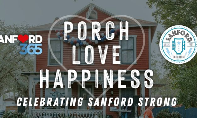 Porch, Love and Happiness: Celebrating Sanford Strong