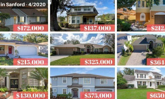 Sanford FL Real Estate Report April 2020