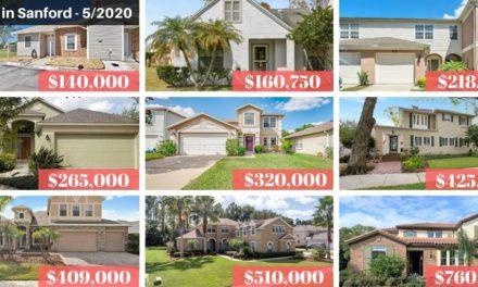 Sanford FL Real Estate Report May 2020