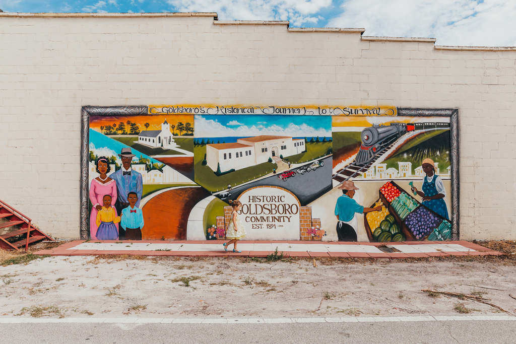 Goldsboro Mural Sanford FL