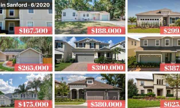 Sanford FL Real Estate Report June 2020