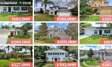 Sanford FL Real Estate Report July 2020
