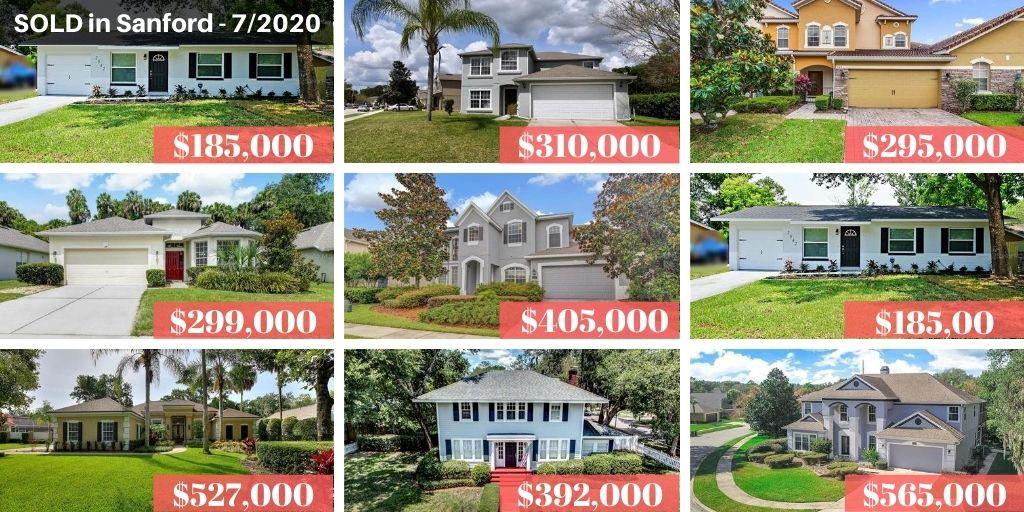 Sanford FL Real Estate Report July 2020