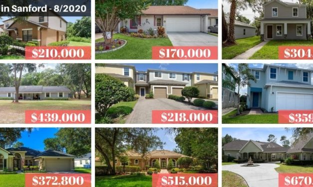 Sanford FL Real Estate Report August 2020