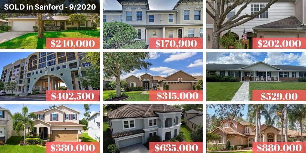 Sanford FL Real Estate Report September 2020
