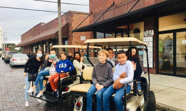 Golf Cart Sanfording is always in Season in Sanford