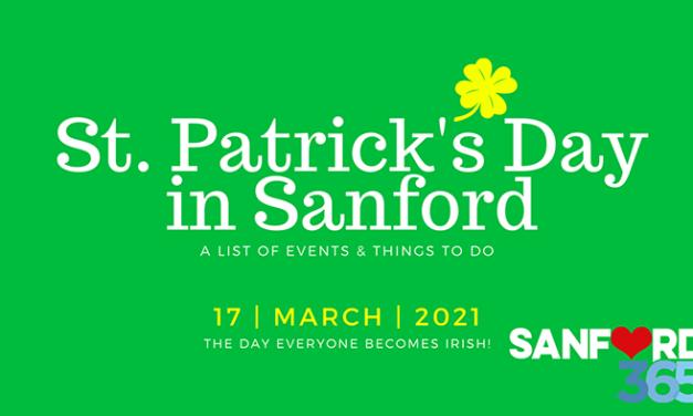 ST. PATRICK'S DAY IN SANFORD 2021