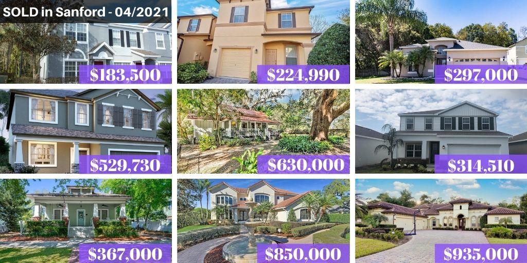 Sanford FL Real Estate Report April 2021