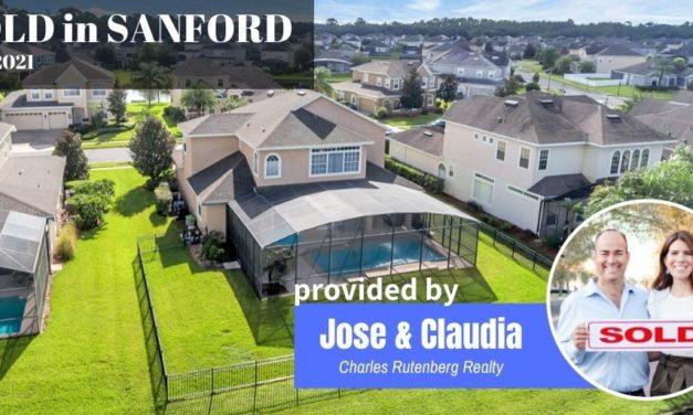 Sanford FL Real Estate Report July 2021